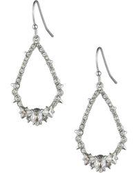 Alexis Bittar - Crystal-encrusted & 10k Gold-plated Spiked Teardrop Earrings - Lyst