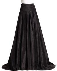 Carolina Herrera - Icon Collection Silk Cummerbund Ball Gown Skirt - Lyst