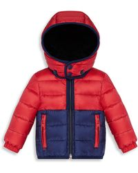 7e3b7449d Moncler Little Boy's & Boy's Harvey Ski Jacket in Red for Men - Lyst