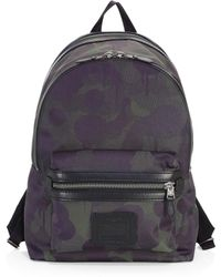 COACH - Academy Camouflage Back Pack - Lyst