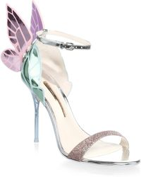 Sophia Webster - ??hiara Wing Leather High Heel Sandals - Lyst