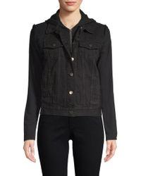 Bailey 44 - Janis Cotton Denim Hooded Jacket - Lyst