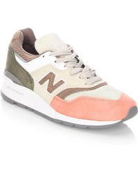 New Balance - Q317 Suede Sneakers - Lyst