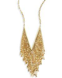 Lana Jewelry - Mega Fringe 14k Yellow Gold Pendant Necklace - Lyst