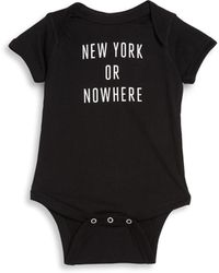 Knowlita | Baby's Ny Cotton Bodysuit | Lyst