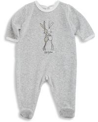 Petit Bateau - Baby's Ludovica Graphic Print Footie - Lyst