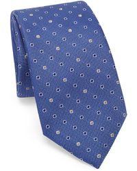 Saks Fifth Avenue - Multi Dot Silk Tie - Lyst