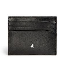 Montblanc - Men's Meisterstuck Pocket 6cc - Black - Lyst