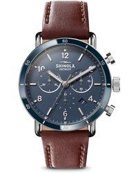 Shinola - The Canfield Sport Two-eye Chronograph Watch - Lyst