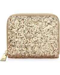 Furla | Babylon Leather Zip-around Glitter Wallet | Lyst