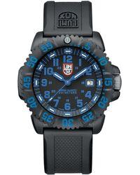 Luminox Sea Colormark Strap Watch - Black