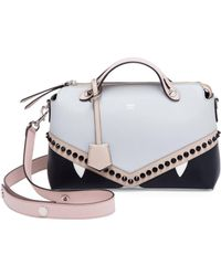 738deba00b13 Fendi - By The Way Color Block Shoulder Bag - Lyst