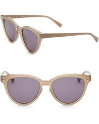 386bb22989 Lyst - Stella McCartney Women s 56mm Octagon Sunglasses - Beige in ...
