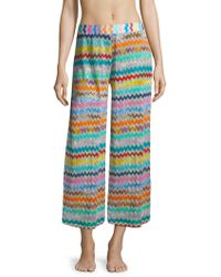 Missoni | Multicolor Lurex Pants | Lyst
