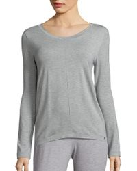 Hanro - Yoga Long-sleeve Top - Lyst