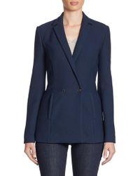 Armani Jeans - Honeycomb Jersey Jacket - Lyst