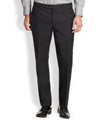 Saks Fifth Avenue - Modern-fit Wool Trousers - Lyst