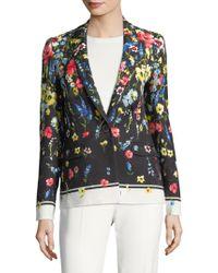 ESCADA - Begasi Floral Jacket - Lyst