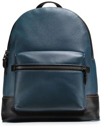 COACH   League Backpack In Glovetanned Pebble Leather   Lyst