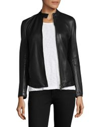 ATM | Leather Moto Jacket | Lyst