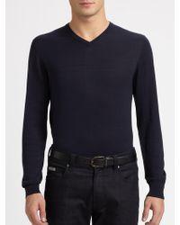 Armani - V-neck Shirt - Lyst