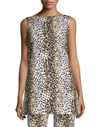 Weekend by Maxmara - Cheetah-print Top - Lyst