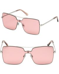 Web - Metal Shield Square Sunglasses - Lyst