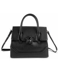 Versace - Medium Palazzo Empire Leather Satchel - Lyst