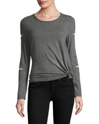n:PHILANTHROPY - Gloria Cutout Long Sleeve Top - Lyst