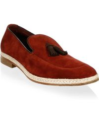 A.Testoni | Classic Suede Loafers | Lyst