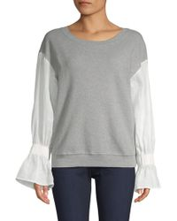 Stateside - Knit Bell Sleeve Pullover - Lyst