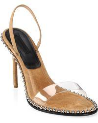 Alexander Wang - Nova Studded Stiletto Sandals - Lyst