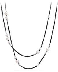 David Yurman - Oceanica Tweejoux Necklace With Pearls And Tahitian Grey Pearls - Lyst