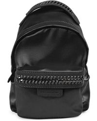 Stella McCartney - Satin Mini Backpack - Lyst