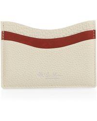 Loro Piana - Odessa Leather Credit Card Holder - Lyst