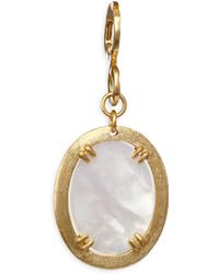 Stephanie Kantis - Paris Mother-of-pearl Oval Pendant - Lyst