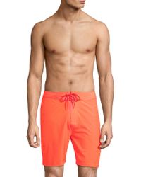 Sundek - Low-rise Swim Trunks - Lyst