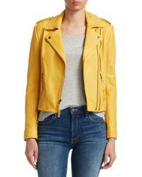 Joie - Leolani Leather Jacket - Lyst