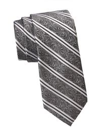 Saks Fifth Avenue - Collection Paisley Stripe Tie - Lyst