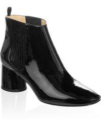 Marc Jacobs - Black Patent Rocket Chelsea Boot - Lyst