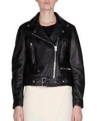 Acne Studios - Leather Jacket - Lyst