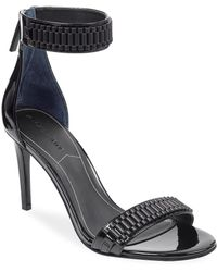 Kendall + Kylie - Mia Leather Ankle Strap Sandals - Lyst