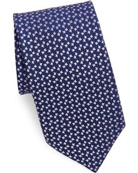 Charvet - Patterned Silk Tie - Lyst