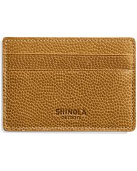 Shinola - Latigo Leather Card Case - Lyst
