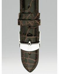 Michele Watches - Alligator Watch Strap/16mm - Lyst