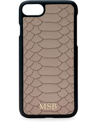 Gigi New York - Embossed Leather Iphone 7 Case - Lyst