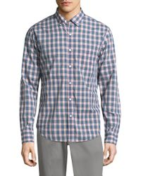 Bonobos - Summerweight Chequered Cotton Button-down Shirt - Lyst