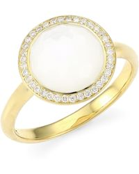 Ippolita - Rock Candy® Diamond, Mother-of-pearl & 18k Yellow Gold Ring - Lyst