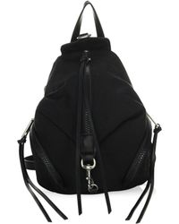 Rebecca Minkoff - Convertible Mini Julian Leather Backpack - Lyst