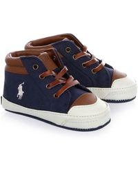 Ralph Lauren - Baby Boy's Geffron Hi-top Sneakers - Lyst